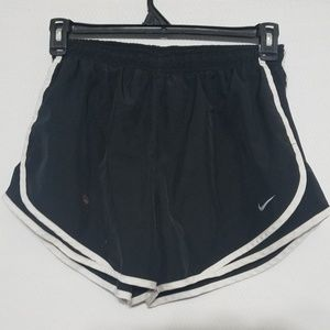 2/$30 Nike Womens Running Shorts Large Black Lined